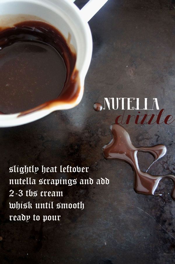 LEFTOVER NUTELLA