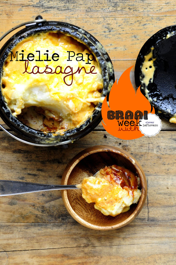 Braai Week Day 2 – Mielie Pap Lasagne