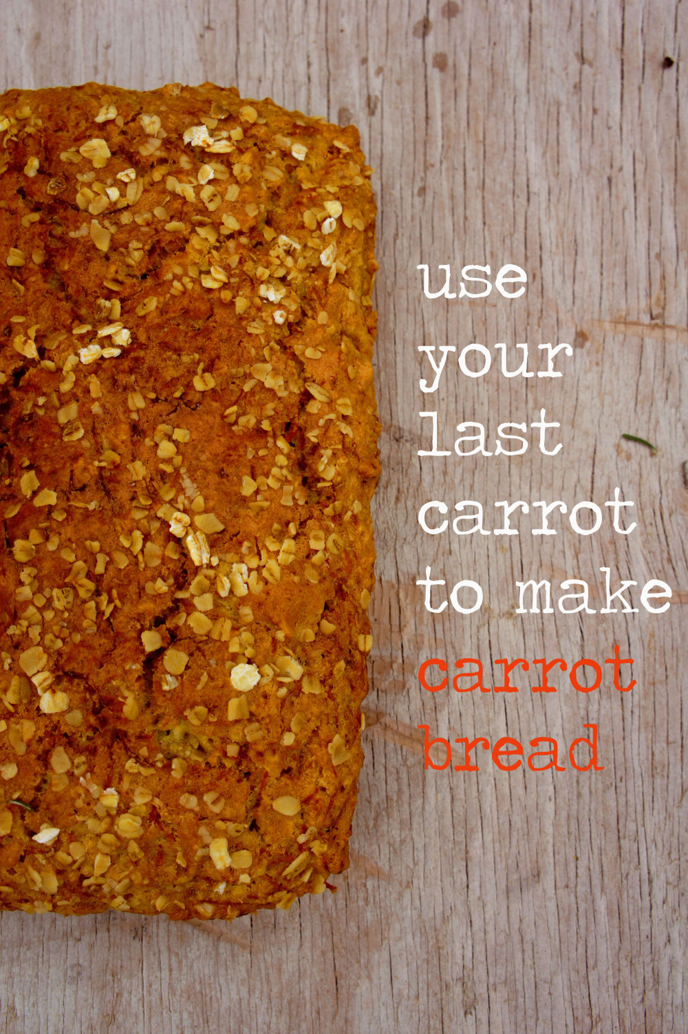 EAT AND DRINK YOUR CARROTS!